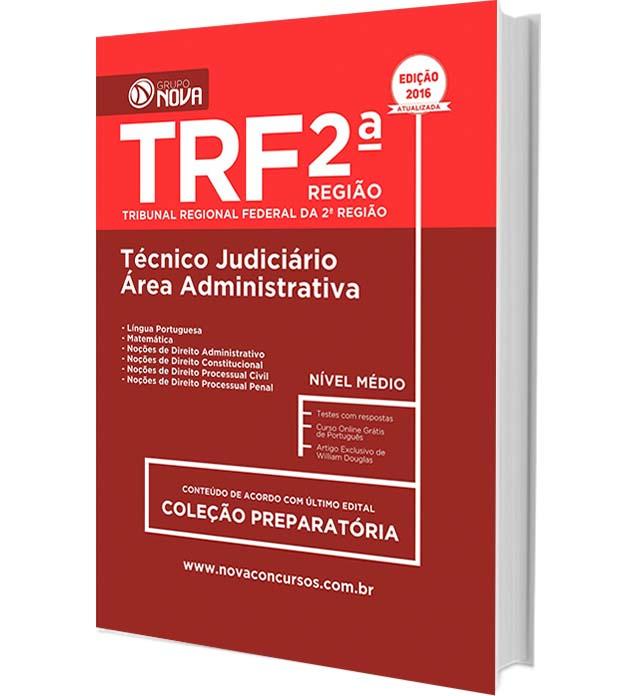 Apostila TRF-2-Região - Técnico Judiciário - Área Administrativa