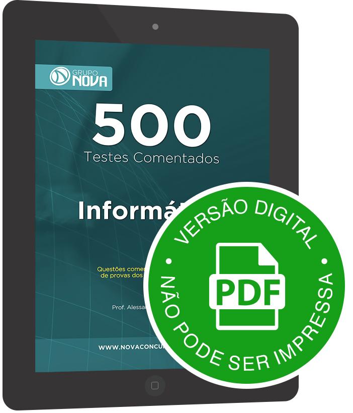500 Testes de Informática ( Digital )