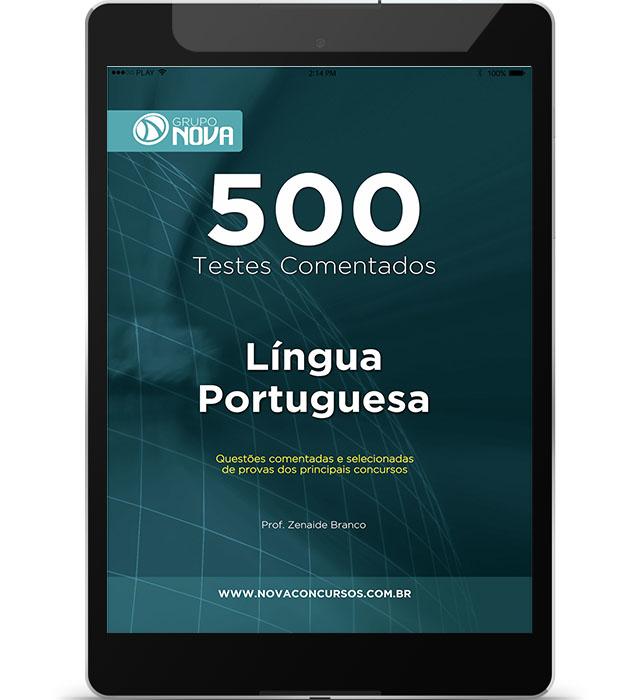 500 Testes de Língua Portuguesa ( Digital )