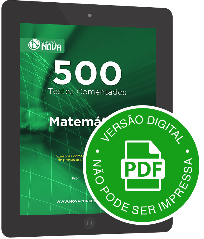 500 Testes de Matemática ( Digital )
