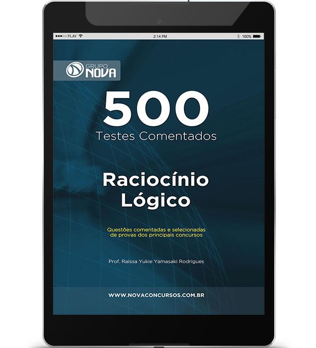 500 Testes de Raciocínio Lógico ( Digital )