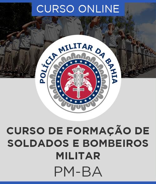 Curso Online concurso PM-BA Soldado PM