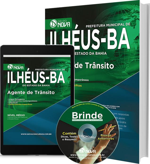 Apostila Prefeitura de Ilhéus - BA 2016 - Agente de Trânsito