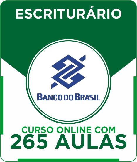 Curso Online Banco do Brasil - Escriturário + Apostila Digital Grátis + Simulado