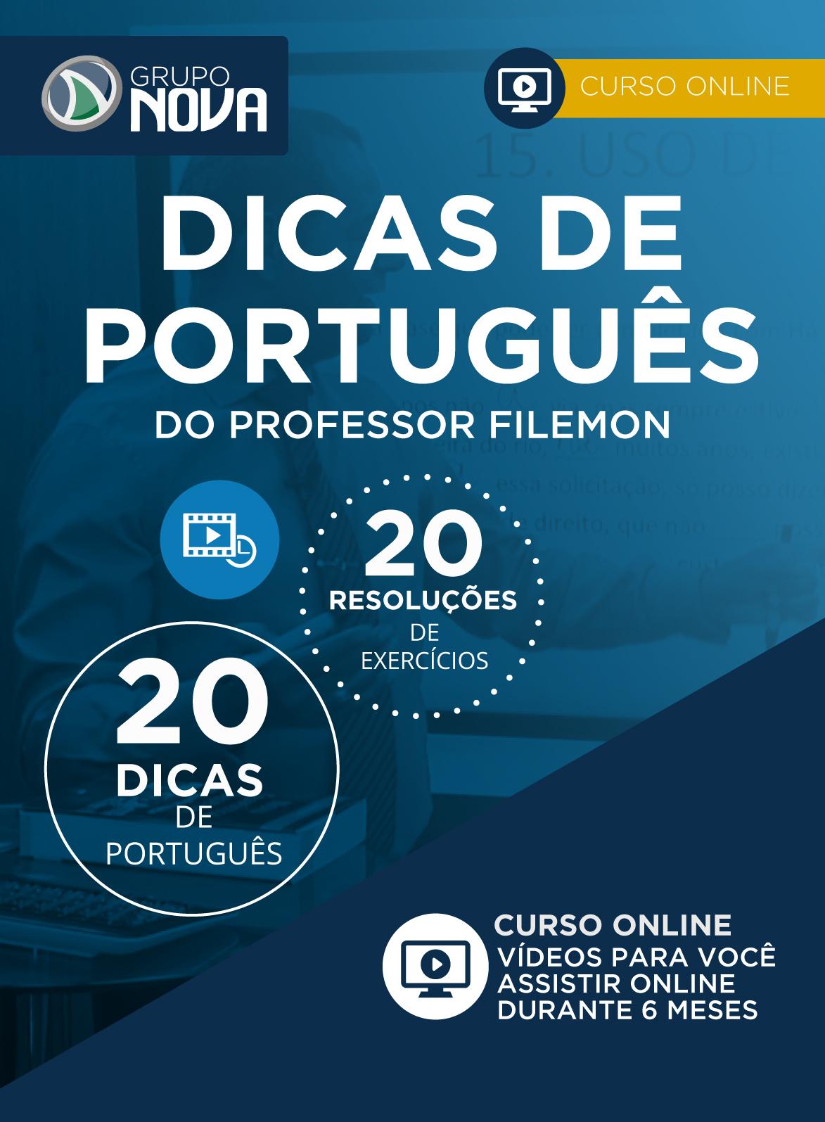 Dicas de Português do Professor Filemon