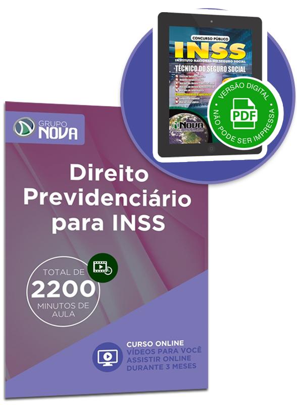 Curso Online Direito Previdenciário para INSS + Apostila Digital