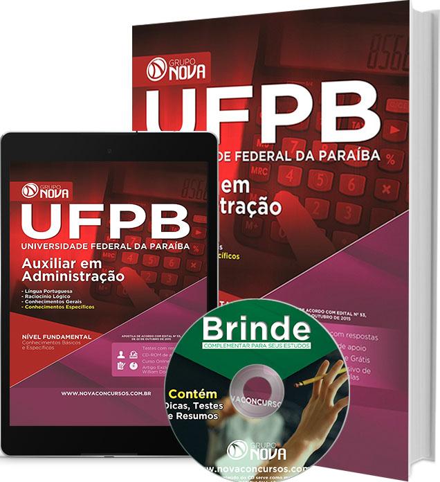 Apostila UFPB 2015 - Auxiliar em Administração