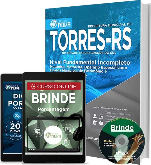 Apostila Concurso Prefeitura de Torres (RS) Agente Administrativo