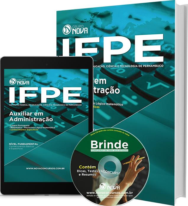 Apostila IFPE 2016 - Auxiliar em Administração