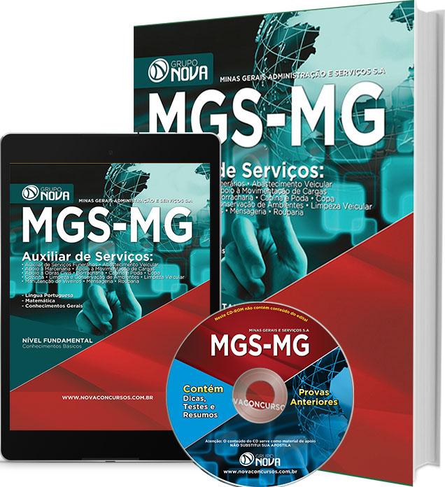 Apostila MGS - MG - Auxiliar de Serviços