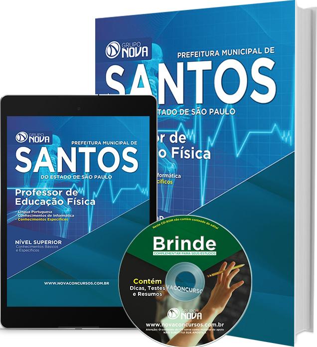 Apostila Prefeitura de Santos 2016 - Professor de Educação Física