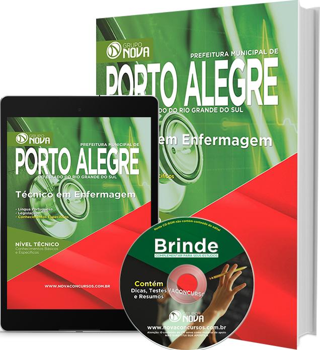 Apostila Prefeitura de Porto Alegre 2016 - Técnico de Enfermagem