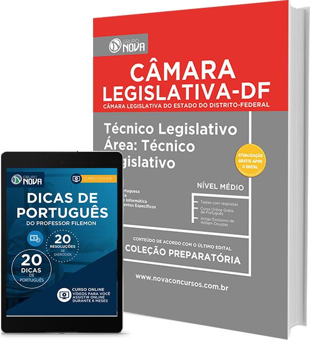 Apostila CLDF Policial Legislativo - Concurso Câmara Legislativa DF