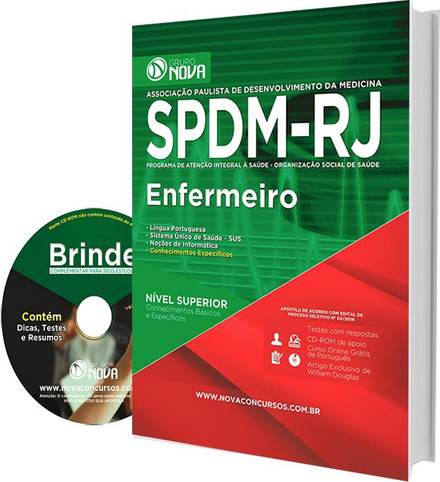 Apostila SPDM - RJ 2016 - Enfermeiro