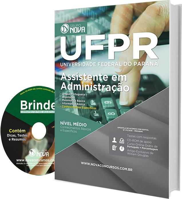 Apostila Concurso UFPR Assistente em Administração