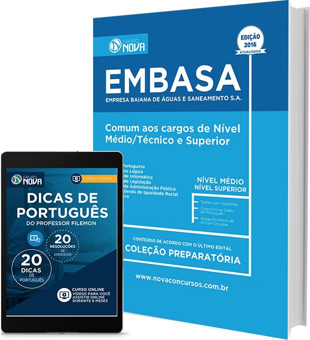 Apostila EMBASA - Comum aos Cargos Nível Médio, Técnico e Superior