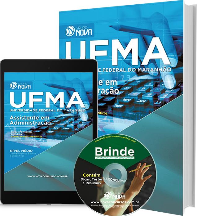 Apostila UFMA 2016 - Assistente em Administração