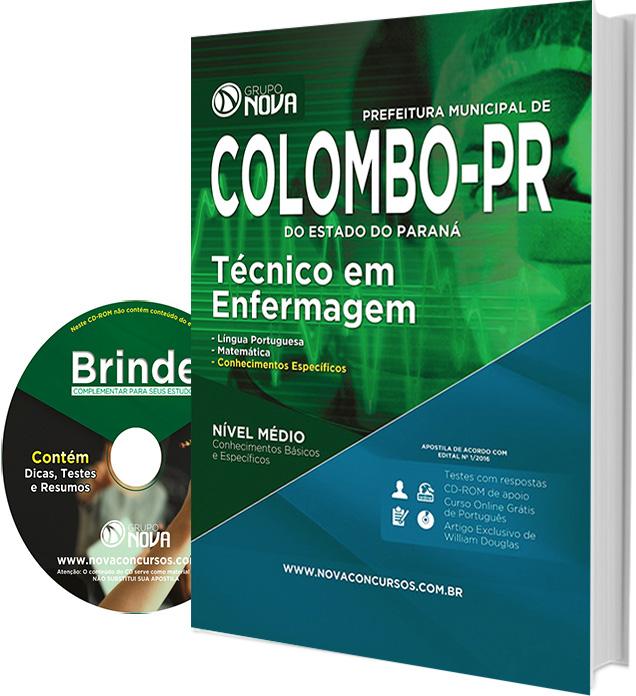 Apostila Concurso Prefeitura de Colombo-PR - Técnico de Enfermagem