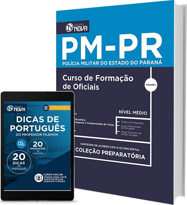 Apostila Concurso Polícia Militar (PR) - Bombeiro Paraná - CFO - PMPR - 2016.