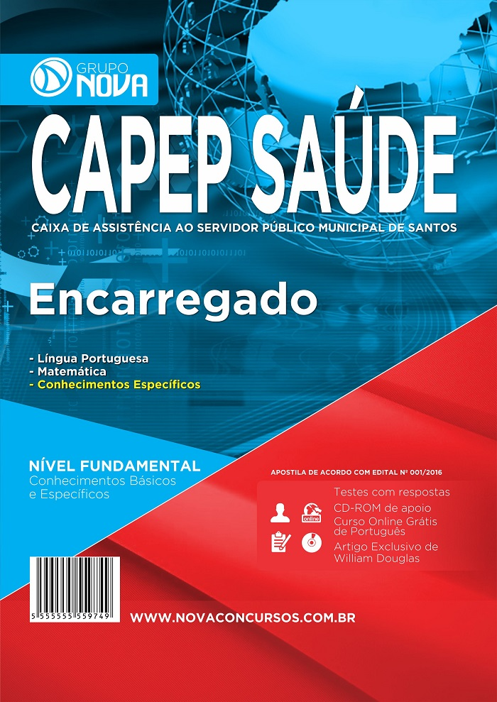 Apostila CAPEP Santos Encarregado.