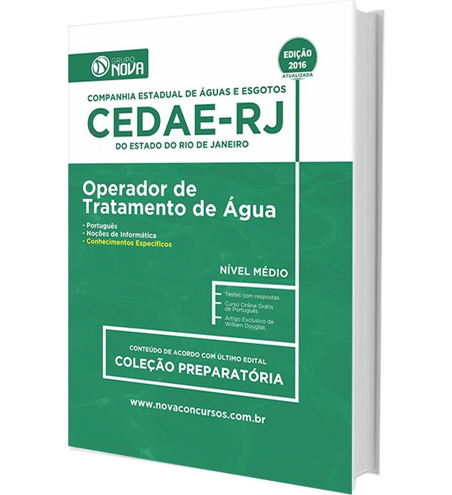 Apostila CEDAE - RJ 2016 - Operador de Tratamento de Água