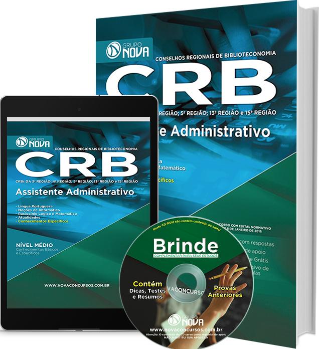 Apostila CRB 2016 - Assistente Administrativo