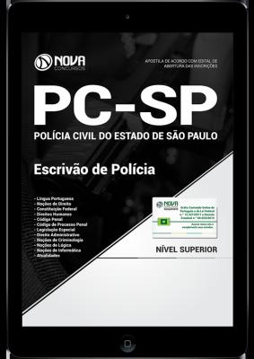 Download Apostila PC SP - Escrivão de Polícia (PDF)