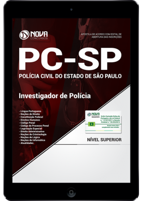 Download Apostila PC SP - Investigador de Polícia (PDF)