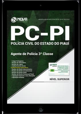 Download Apostila PC-PI - Agente de Polícia 3ª Classe (PDF)