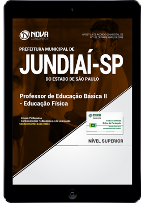 91fb6b16e Download Apostila Prefeitura de Jundiaí - SP - Professor de Educação Básica  II - Educação Física