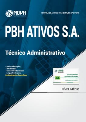 Apostila PBH Ativos Técnico Administrativo