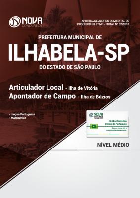 Apostila para Concursos Públicos Prefeitura de Ilhabela - SP