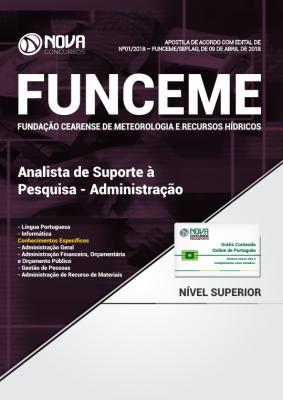 apostila FUNCEME - Analista de Suporte à Pesquisa - Administração