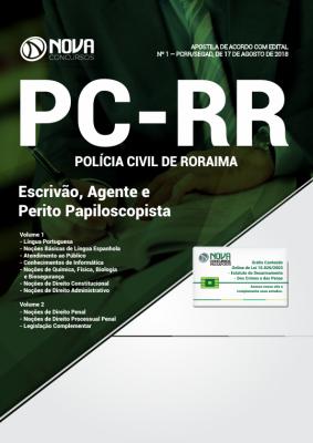 Apostila PC-RR - Escrivão, Agente e Perito Papiloscopista