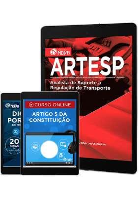 Download Apostila ARTESP Pdf - Analista de Suporte à Regulação de Transporte