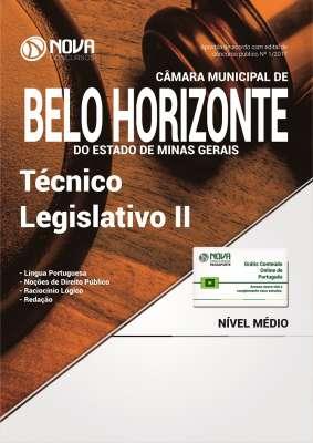 Apostila Câmara Municipal de Belo Horizonte - MG - Técnico Legislativo II