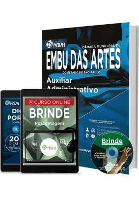 Apostila Embu das Artes – Auxiliar Administrativo