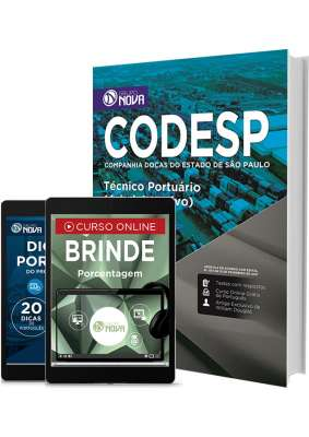 Apostila CODESP - SP – Técnico Portuário (Administrativo)