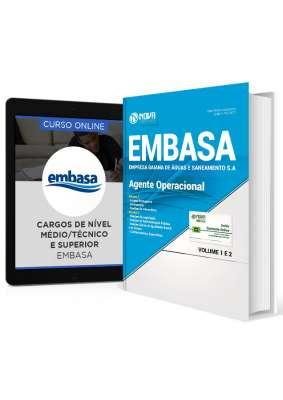 Combo EMBASA - BA 2017 – Agente Operacional + Curso Online