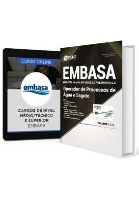 Combo EMBASA - BA 2017 – Operador de Processos de Água e de Esgoto + Curso Online