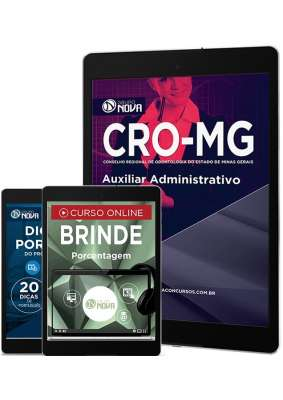 Download Apostila CRO MG Pdf - Auxiliar Administrativo