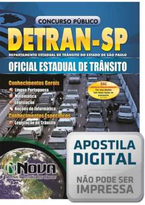 Oficial Estadual de Trânsito (Digital)
