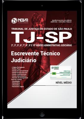 Download Apostila TJ-SP PDF - Escrevente Técnico Judiciário