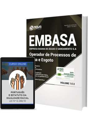 Apostila EMBASA - BA – Operador de Processos de Água e de Esgoto