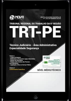 Download Apostila TRT-PE PDF - Técnico Judiciário - Área Administrativa - Especialidade Segurança
