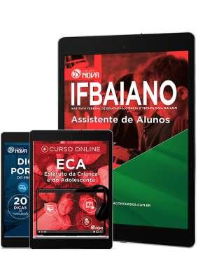 Download Apostila IFBAIANO Pdf - Assistente de Alunos