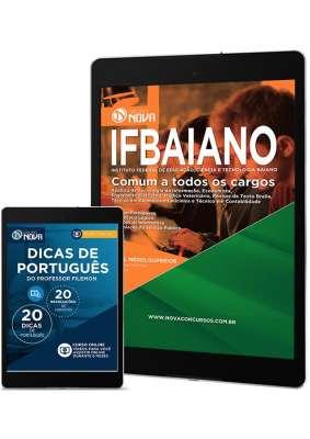 Download Apostila IFBAIANO Pdf - Comum a Todos os Cargos