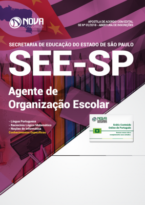 Apostila SEE-SP - Agente de Organização Escolar