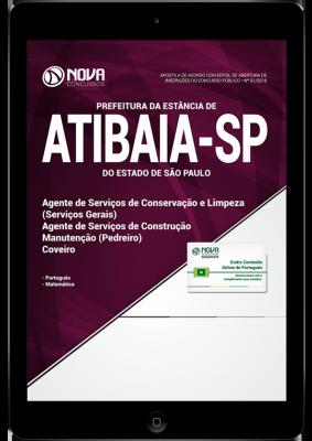 Download Apostila Prefeitura de Atibaia - SP - Agente de Serviços Gerais, Pedreiro e Coveiro (PDF)