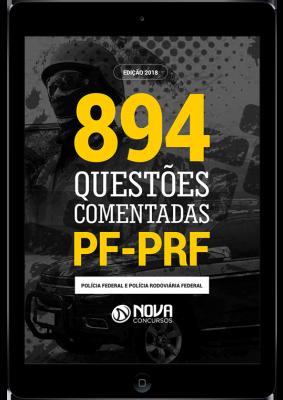 Download e-book de Questões Comentadas PRF (PDF)